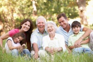 семья и пенсионеры