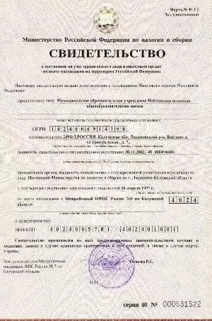 инн гражданин РФ