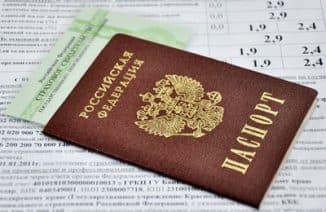 паспорт страховое свидетельство