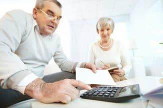 расчёт пенсии