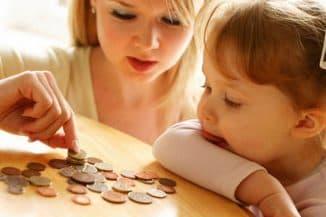 денежное пособие для ребёнка