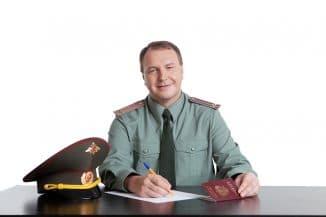 военнослужащие с выслугой лет