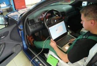 проведение диагностики авто