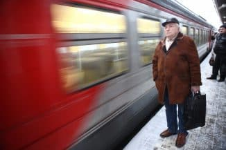 льготный проезд для пенсионеров на поезде