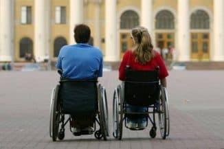 разные категории инвалидов
