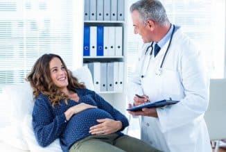 беременная на больничном