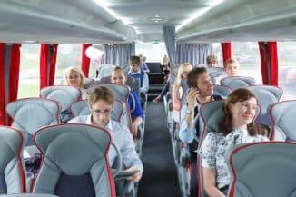 страхование пассажиров в автобусе