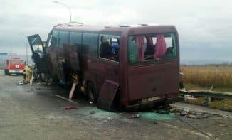 попал в аварию пассажир автобуса